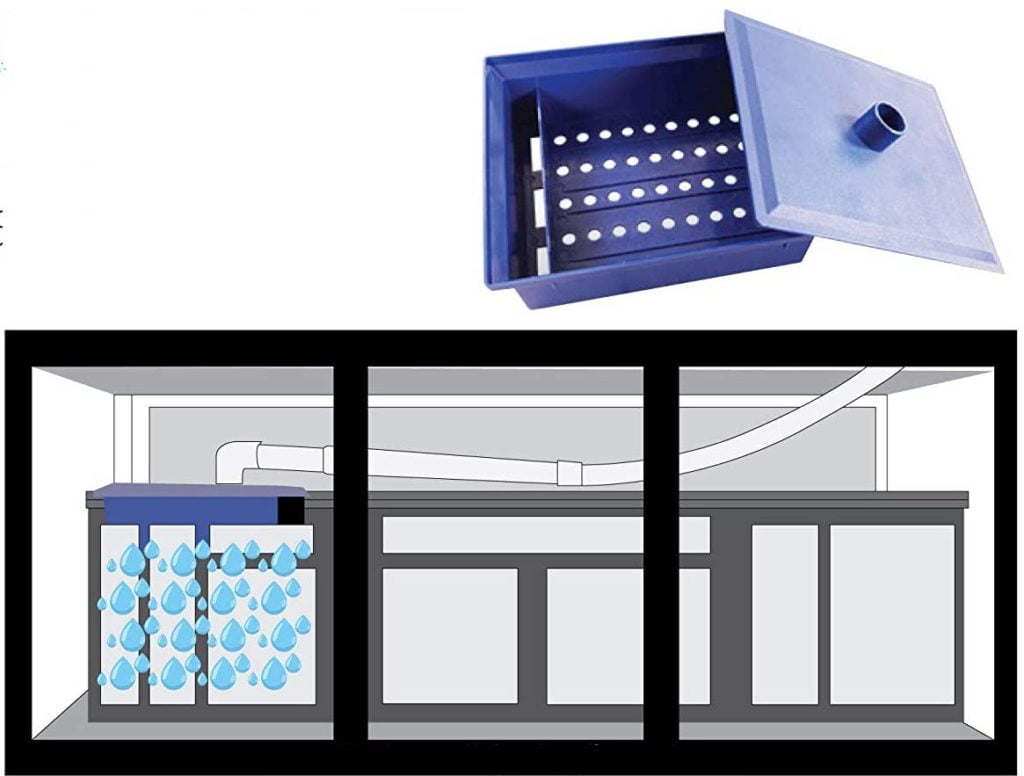 Patented separation box for filtration systems